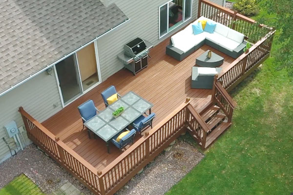 How To Spray Stain A Deck With A Spray Gun